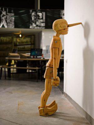 סשה סרבר, הצבה בתערוכה ״בריסטולים״, מובי